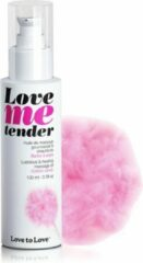 Love to Love Love me Tender verwarmende Massageolie - Cotton Candy