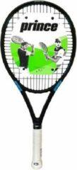 Prince Tennisracket TT Predator 100- Zwart/Blauw- Gripmaat L1