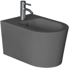 Bidet Salenzi Form Square Mat Antraciet (exclusief kraan)