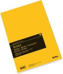 Witte Schoellershammer Reflex studioline Bristolpapier, 180gr, A4 blok, 50 vel