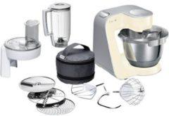 Bosch Haushalt MUM58920 Foodprocessor 1000 W Vanille, Zilver (mat)
