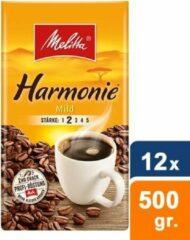 Melitta Harmonie mild Gemalen koffie - 12 x 500 gram