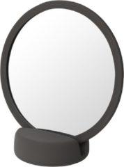 Scheerspiegel Blomus Sono Ø 17 cm Make-Up Spiegel Vijf Keer Vergrotend Tarmac