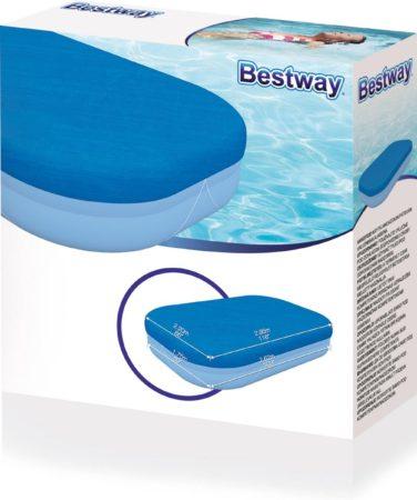 Afbeelding van Blauwe Bestway - Zwembad Afdekzeil - 262 x 175 cm