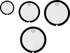 "Big Fat Snaredrum Studio 4 Pack, 10"", 12"", 14"", 16"""