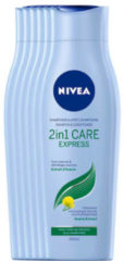 NIVEA 2in1 Care Express shampoo en conditioner - voordeelverpakking 5+1 gratis