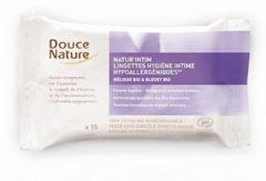 Douce Nature Intieme hygienische doekjes bio katoen 15 Stuks