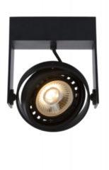 Lucide GRIFFON Plafondspot - LED Dim to warm - GU10 - 1x12W 2200K/3000K - Zwart
