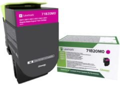 Lexmark Recycling toner CS317 CS417 CS517 CX317 CX417 CX517 71B20M0 Origineel Magenta 2300 bladzijden
