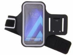 Zwart Sportarmband Samsung Galaxy A5 (2017) - Zwart / Black