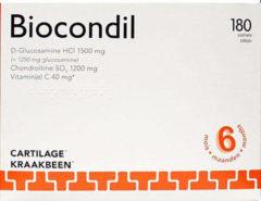 Trenker Biocondil chondroitine glucosamine vitamine C 180 Zakjes