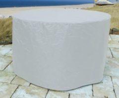 Abdeckung Gartenmöbel 180cm rund Abdeckplane für Sitzgarnitur Gartentisch Sitzgruppe Grasekamp Weiß