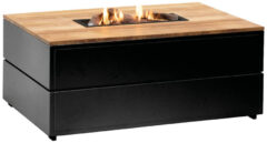 Van Kooten Tuin en Buitenleven Cosipure 120 zwart/teak 120x80x50 cm