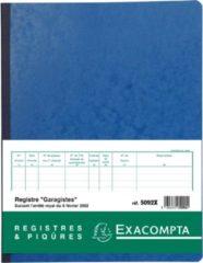 Exacompta Speciale registers Garagisten - Franstalig - 80 blad. (5092X)