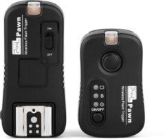 Zwarte Pixel Radio Trigger Set Pawn TF-361 voor Canon