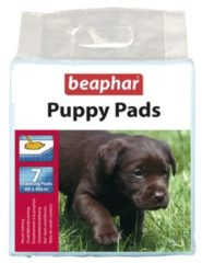 Transparante Beaphar Puppy Pads/Trainingsmatten 7 stuks