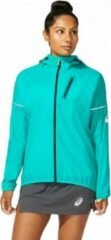 Asics - Women's Fujitrail Jacket - Hardloopjack maat M, turkoois