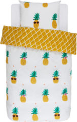 Renforce Bettwäsche 'Pineapple' 2tlg. Covers & Co Gelb