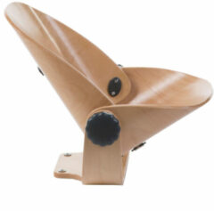 Antraciet-grijze Childhome Evolu Newborn Seat Natural / Antraciet
