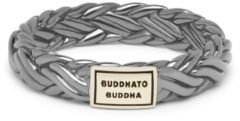 Buddha to Buddha 605BR-SG Ring Katja XS Black Rhodium Shine zwart-goudkleurig Maat 17