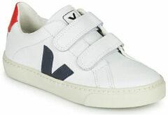 Witte Lage Sneakers Veja SMALL-ESPLAR-VELCRO