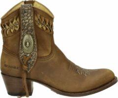 Sendra 14095 Debora dames cowboylaars - Cognac - Maat 41