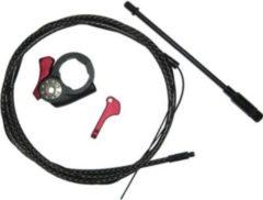 Kind Shock KSP1427/5708/3913/5101/5107/35 Remotehebel inkl, Zug für Dropzone Remote i900-R, schwarz/rot (1 Set)
