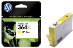 HP 364XL originele high-capacity gele inktcartridge (CB325EE)