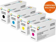 Paarse Toners-kopen.nl Compatibel Set van 4x Toner voor Brother TN-243CMYK TN-247CMYK Toners-kopen nl