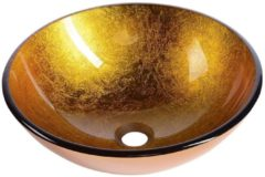 Waskom Sapho Beauty Rond 42 cm cm Goud Oranje