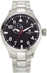 Automatisch herenhorloge BABISTA zilverkleur