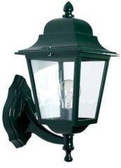 KS Verlichting K.S. Verlichting Lantaarn Wandlamp Sorrento staand groen