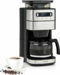 Klarstein Aromatica Taste 10 koffiezetapparaat 1000W - gentegreerde kegelvormige koffiemolen -10 kopjes - 1250 ml glazen kan