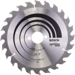 Bosch Kreissägeblatt Optiline Wood 190x30x2,6mm Z24WZ 2 608 640 615 2608640615