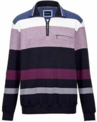 Donkerrode Sweatshirt BABISTA Marine::Berry