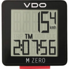 VDO - M-Zero - Fietscomputer zwart/rood