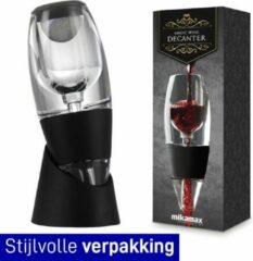 Zwarte MikaMax Magic Wine Decanter Deluxe - Decanteerder - Wijn Accessoires - Wijn Decanteerder – Decanteerkaraf