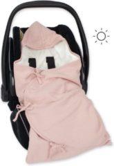 Roze BEMINI MINI NEST 0-4m oude roos Blush Tetra jersey