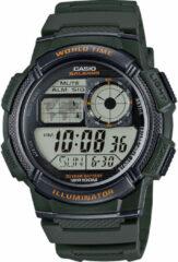 Casio AE-1000W-3AVEF - Horloge - Kunststof - Groen - Ø 43.7 mm