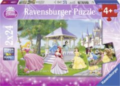Ravensburger Disney Princess. Betoverende prinsessen- Twee puzzels van 24 stukjes - kinderpuzzel