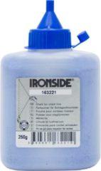 Klusgereedschapshop Ironside Slaglijnmolenpoeder blauw 250 gram