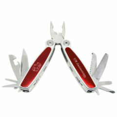 VW Collection - VW T1 Bus Multitool - Multitool maat 12,5 x 9,5 x 2,8 cm, rood