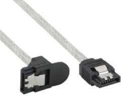 InLine 27303X SATA-kabel 0,3 m Transparant
