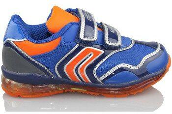 Afbeelding van Blauwe Lage Sneakers Geox B TODO DBK LUCES