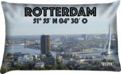 Blauwe Velits outdoor Buitenkussen Rotterdam