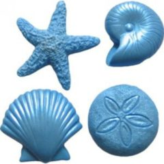 Blauwe First Impressions Siliconen mal SC120 Assortiment sea creatures