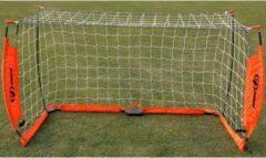 Oranje Soccerconcepts Fiberglas goal - voetbaldoel - 180cm x 100cm - verzwaarde basis