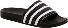 Witte Adidas Slippers adilette - Unisex - White/Black/White - 280647