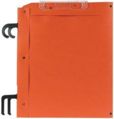 Oranje Esselte hangmappen voor kasten Filcontrol bodem 30 mm