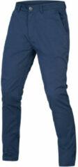 Marineblauwe Endura Hummvee Chino Cycling Trousers - Lange broeken